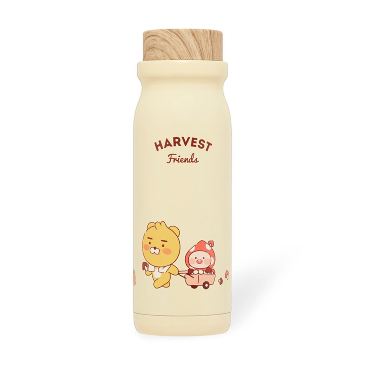 Kakao Friends - 收成系列不銹鋼水樽 (特價)