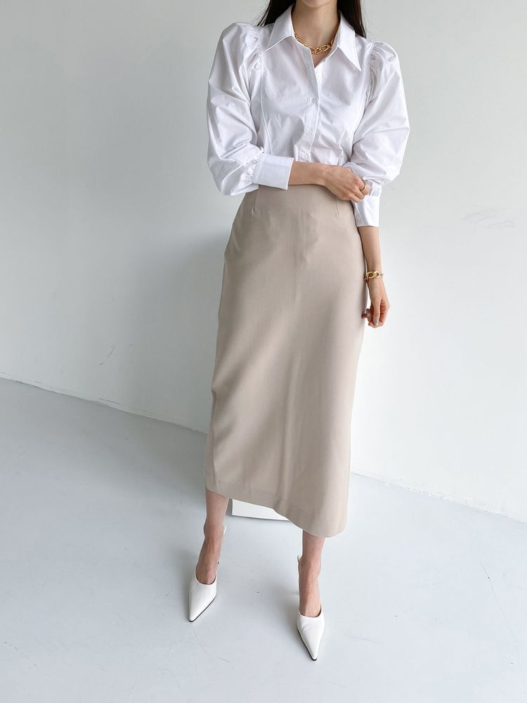 ppgirl-봄 퍼프 블라우스bl G628♡韓國女裝上衣