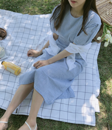 1000sisters-스트롱 린넨(ops)♡韓國女裝連身裙