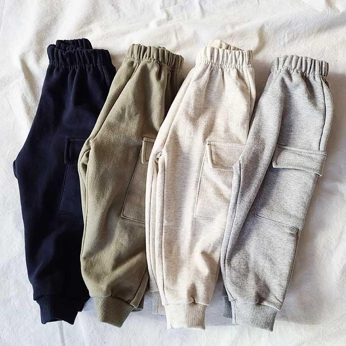 littlesmile-뉴카고 트레이닝팬츠♡韓國童裝褲
