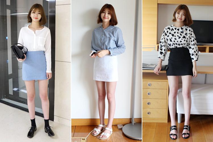 laurenhi-Made 15 (sk)  ♡韓國女裝裙