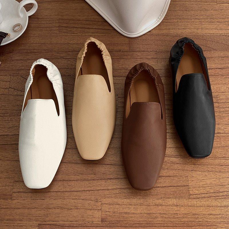 laurenhi-페핀 스퀘어 밴딩 로퍼 - 4 color  ♡韓國女裝鞋