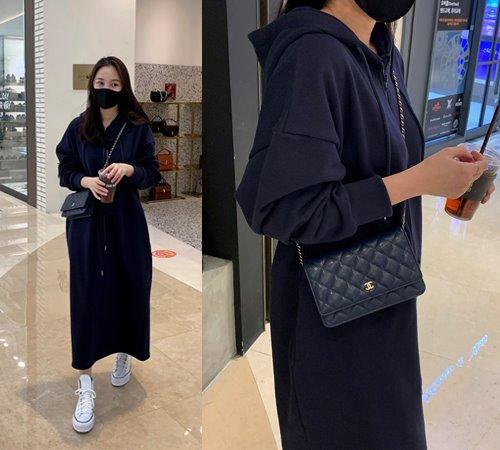 theozzang-썸타임즈 스트링후드원피스♡韓國女裝連身裙