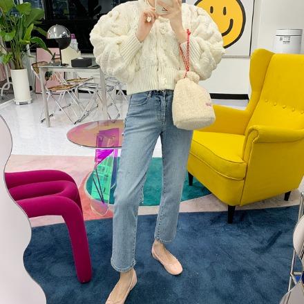discosalon-워싱스판일자-pt♡韓國女裝褲