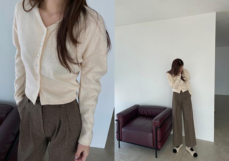 prostj-마치 벌룬 슬리브 가디건 (5colors)♡韓國女裝外套