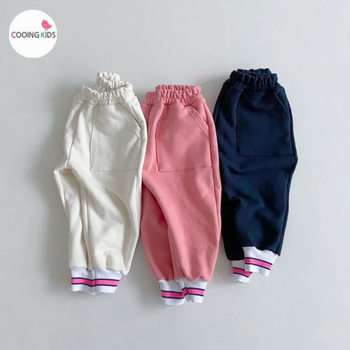 cooingkids-B밴딩팬츠♡韓國童裝褲