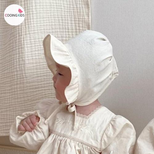 cooingkids-베이비옷 - H바이엘자수보넷♡韓國幼兒裝