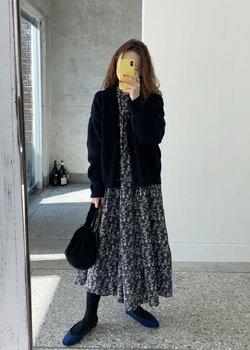 ifgirl-얼루 원피스 (2color)♡韓國女裝連身裙
