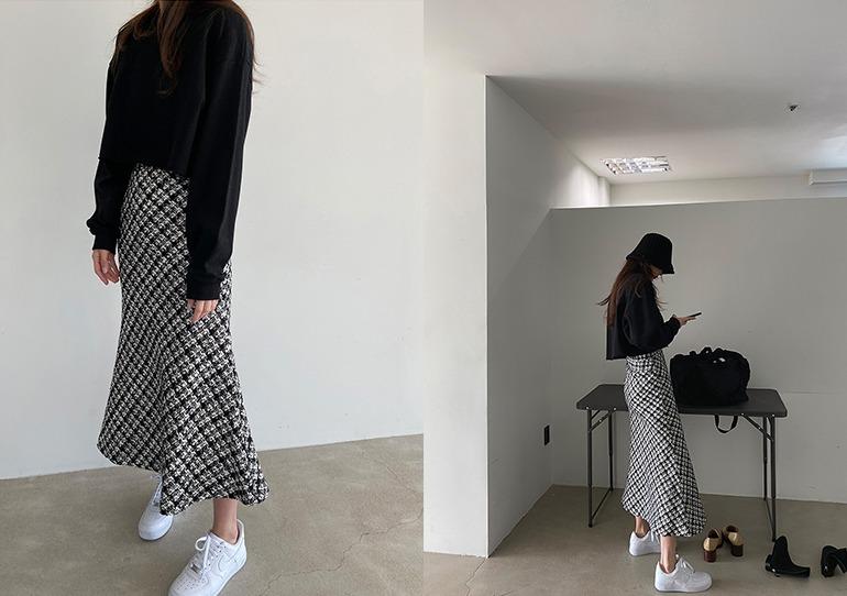prostj-아우라 머메이드 스커트 (2colors)♡韓國女裝裙
