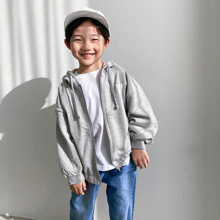 littlesmile-알렉스 후드집업♡韓國童裝外套