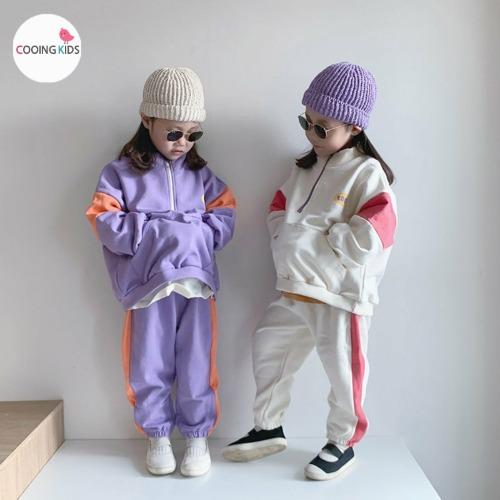 cooingkids-B아노락라인상하세트♡韓國童裝套裝
