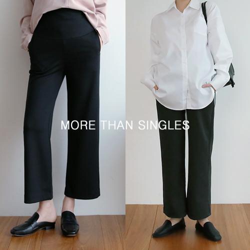 280days-[와이드이지슬랙스팬츠/임부복]임부복 2 8 0 DAYS - 느낌있는 임부복쇼핑몰♡韓國孕婦裝褲子
