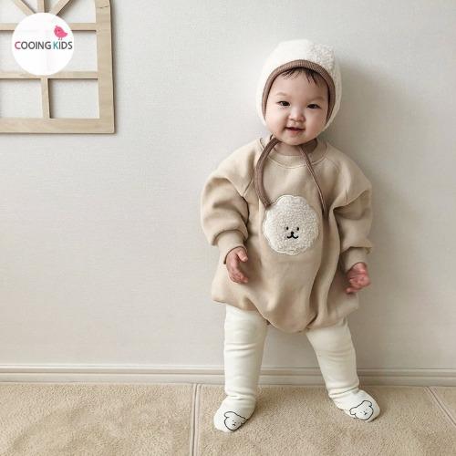 cooingkids-베이비옷 - B숑숑슈트(모자별도구매!!)♡韓國幼兒裝