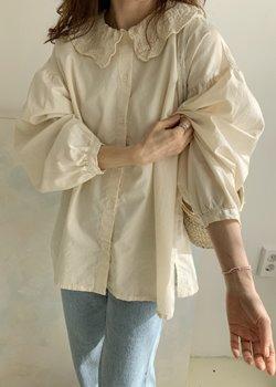 ifgirl-노팅힐 블라우스 (2color)♡韓國女裝上衣