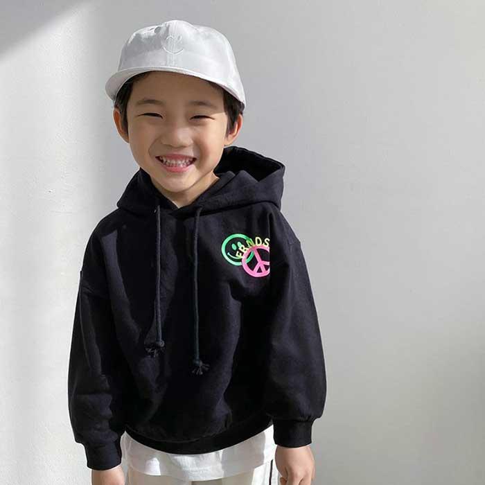 littlesmile-프렌즈 후드티♡韓國童裝上衣
