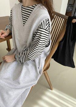 ifgirl-쭈리 조끼 원피스♡韓國女裝連身裙