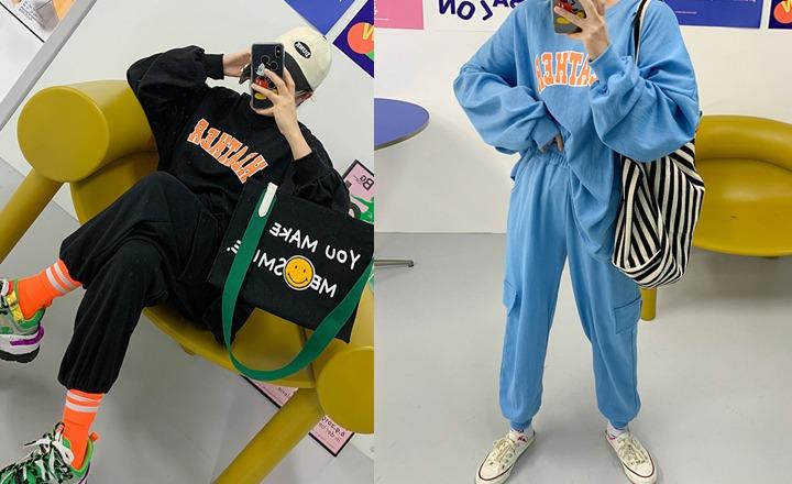 discosalon-헤더조거-set♡韓國女裝套裝