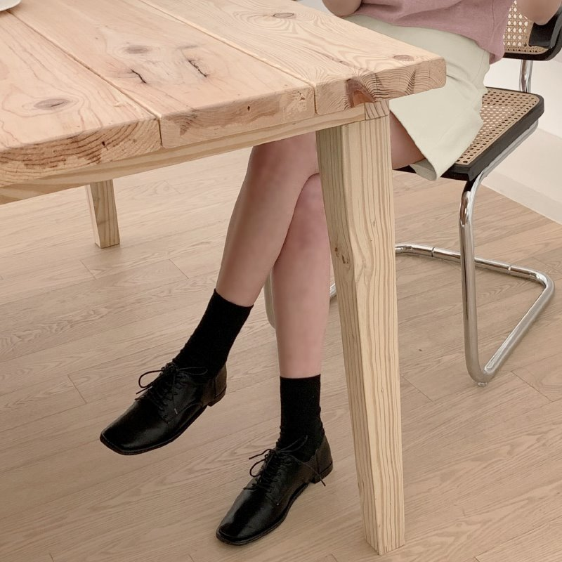 laurenhi-모더닐 스퀘어 로퍼 - 3 color  ♡韓國女裝鞋
