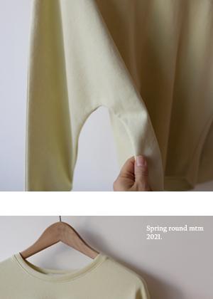 annanblue-[spring 둥근 mtm(27일 PM5 5% 마감)]♡韓國女裝上衣