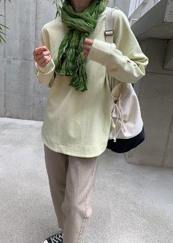 ifgirl-둥글게 맨투맨 (4color)♡韓國女裝上衣