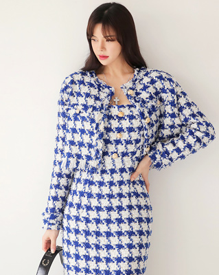 cocostory-[가브리엘 트위드 자켓& 원피스 섹시한 고혹적인 아름다움-주인장도 선택한^^]♡韓國女裝連身裙