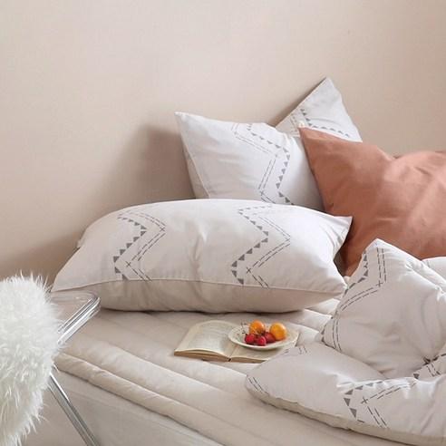 100%韓國製防塵蟎純棉枕頭袋(1個)