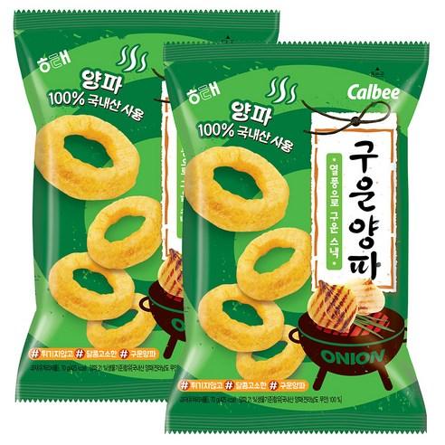 韓國海太 calbee 炭烤風味巨大裝洋蔥圈 70g