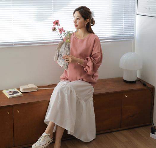 soim-[임부복*달콤한프릴 임산부원피스]♡韓國孕婦裝連身裙