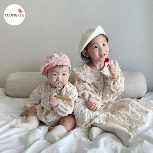 cooingkids-T벤자르카라원피스♡韓國童裝連身裙