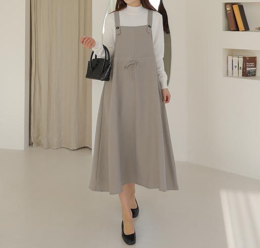 soim-[임부복*루미조절버튼 뷔스티에원피스]♡韓國孕婦裝連身裙