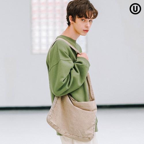 fairplay142-[[언더베이스] 로이 피그먼트 에코백 베이지 JKBG9059]♡韓國男裝袋
