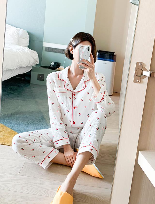 babirolen-[체리봉봉-pajama]♡韓國女裝上衣