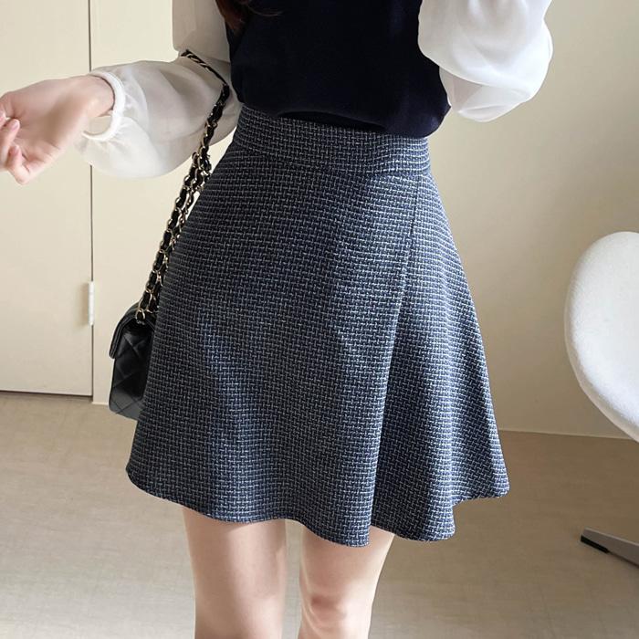 myfiona-미로트위드 A라인 스커트 a1271 - 러블리 로맨틱룩 1위 쇼핑몰 피오나♡韓國女裝裙