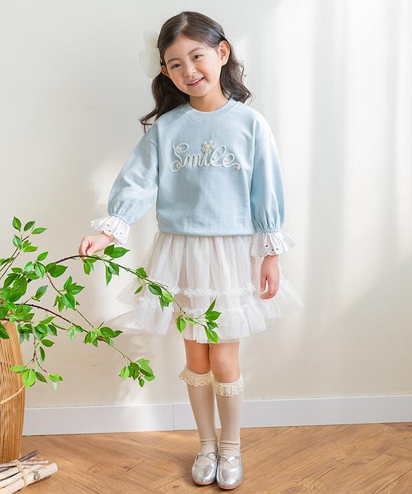 harukids-벨라레이스티[티셔츠BDA292]♡韓國童裝上衣