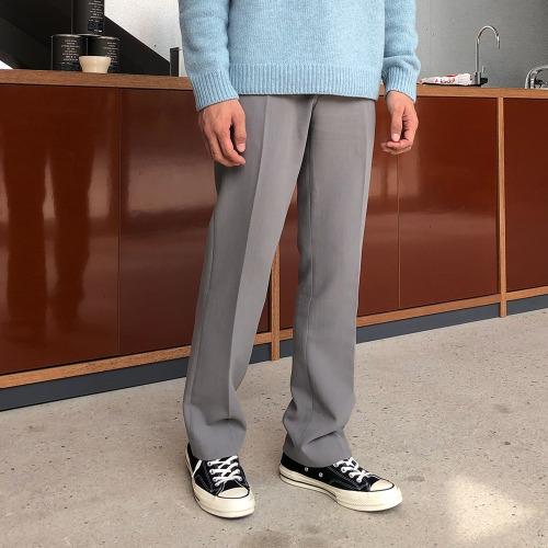 modernsweet-TR 슬림 와이드 슬랙스(링클프리) - 모던스윗(modernsweet)♡韓國男裝褲子