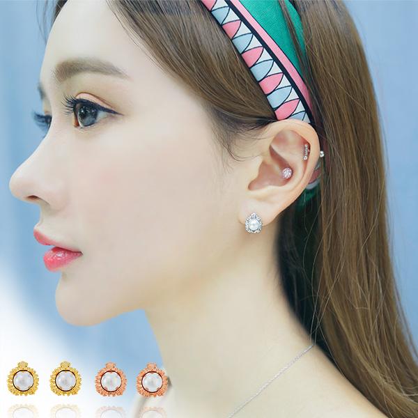 soo-soo-[귀걸이다라 earring (17E347) [3color]]♡韓國女裝飾品