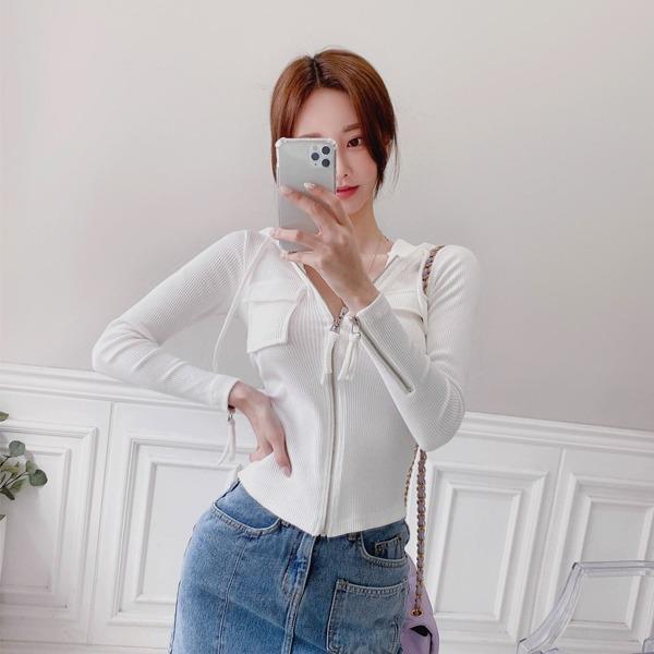 babinpumkin-후르트링 후드 집업♡韓國女裝外套