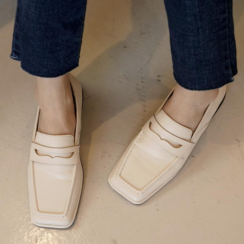clicknfunny-[키멘 스퀘어로퍼]♡韓國女裝鞋