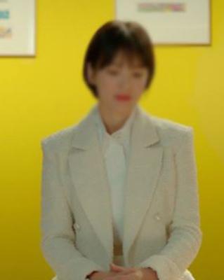 cocostory-[송혜* 코코 화이트 진주 트위드 자켓~!! 소장가치있는^^ 셀럽들의 열광적인 트위드 자켓~!!]♡韓國女裝外套