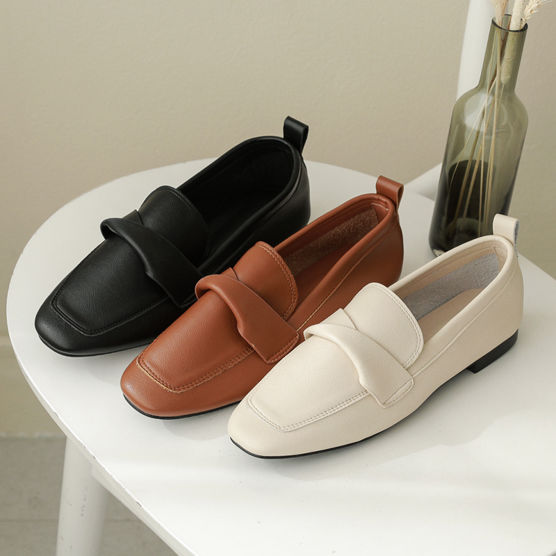 clicknfunny-[벤너 꼬임로퍼]♡韓國女裝鞋