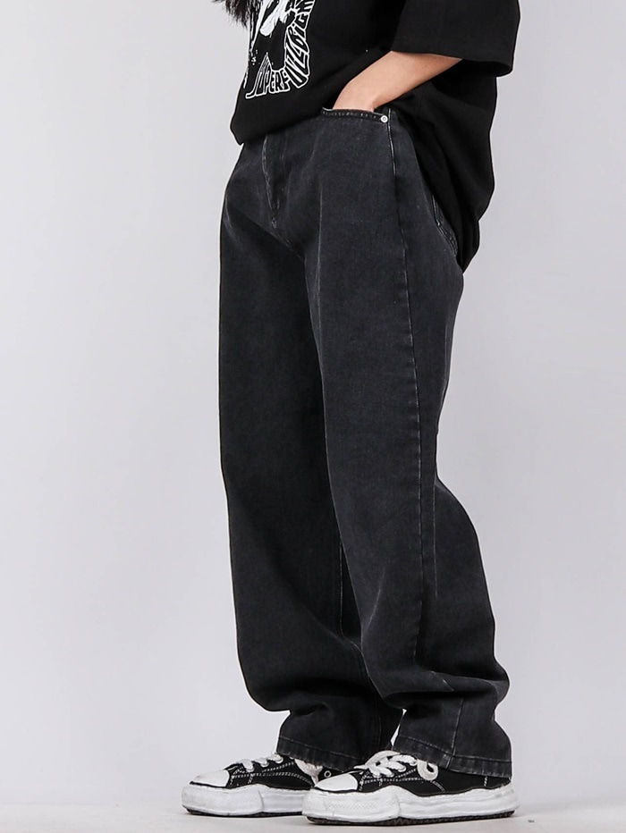 justyoung-AP Balloon Fit Jeans (3color)♡韓國男裝褲子