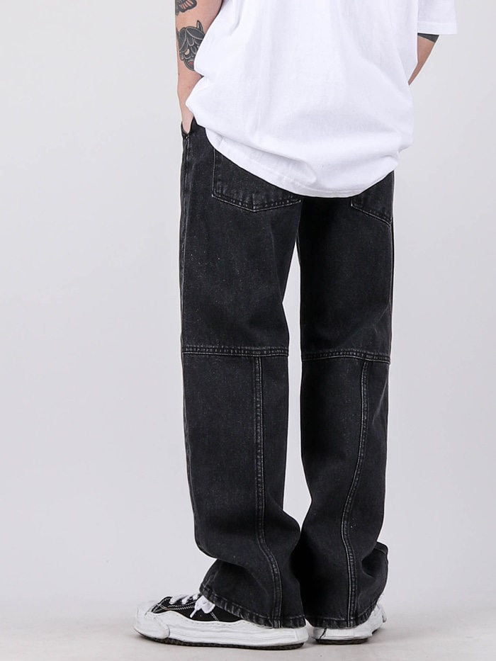 justyoung-PM 96 Back Cut Jeans (2color)♡韓國男裝褲子