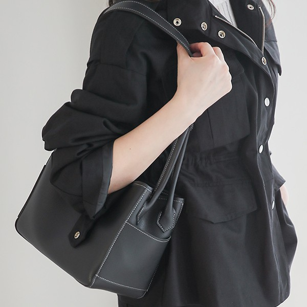 ode-[데일리 스퀘어 피크닉 토트백(파우치SET)]♡韓國女裝袋