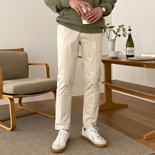 modernsweet-코스 밴딩 코튼 슬랙스 6color (S~XL) - 모던스윗(modernsweet)♡韓國男裝褲子