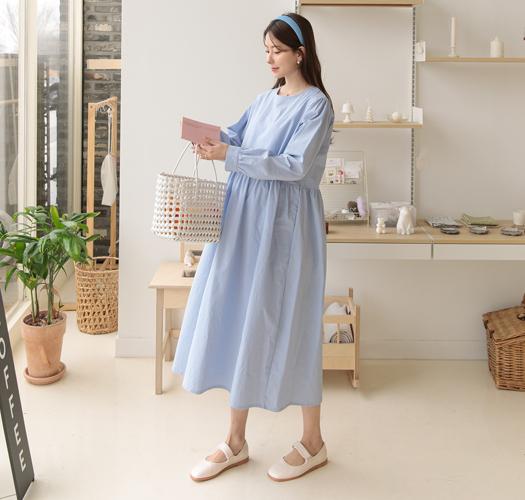soim-[임부복*순수코튼 임산부원피스]♡韓國孕婦裝連身裙