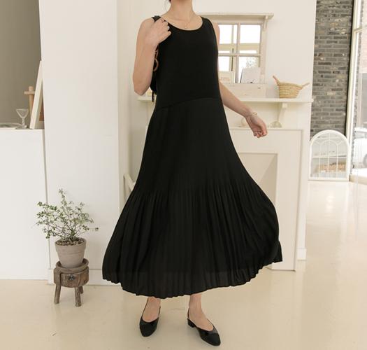 soim-[임부복*만능코디플리츠 임산부원피스]♡韓國孕婦裝連身裙