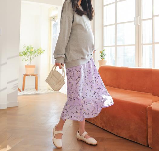 soim-[임부복*봄처녀레이어드 임산부원피스]♡韓國孕婦裝連身裙