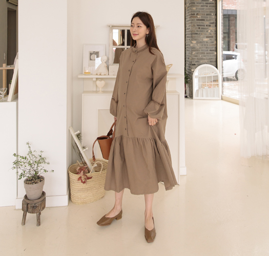 soim-[임부복*로망자수 임산부원피스(수유가능)]♡韓國孕婦裝連身裙