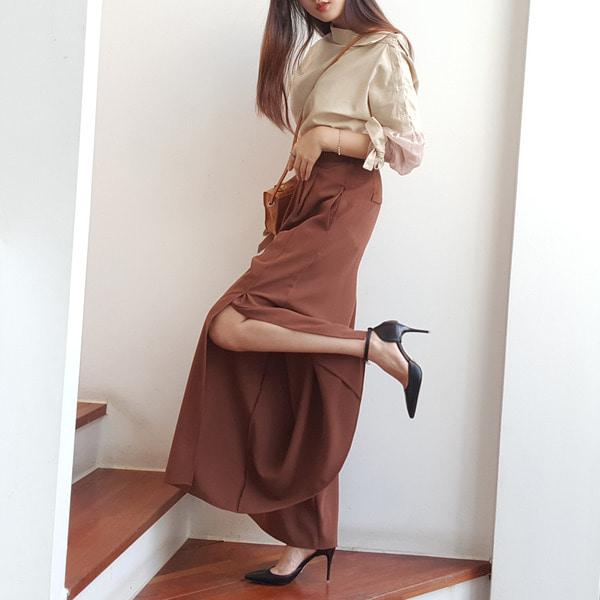 jennifereryn-와일드와이드 롱트임팬츠♡韓國女裝褲