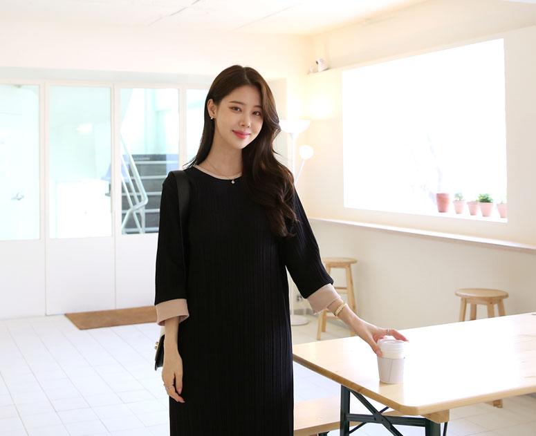 happy10-[*신상5% 기간한정할인*임부복*무드더치주름 원피스]♡韓國孕婦裝連身裙